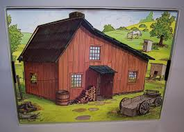 little house little house on the prairie colorforms play set colorforms 1978