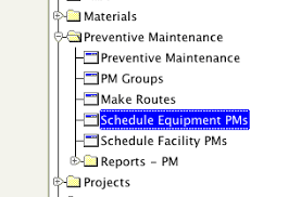preventive maintenance checklist and schedule template tools