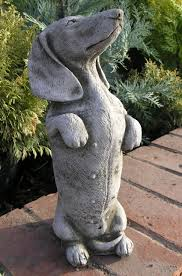 reviews for kippy the dachshund garden ornament statue ds2