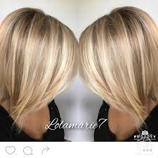 hairstyles for short highlighted blond hair buttery blonde pinteres