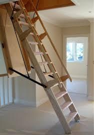 sandringham electric folding loft ladder available in a range