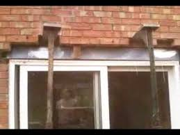 Fitting Patio Doors Fitting New Lintel Part 2