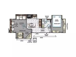 forest river 5th wheel floor plans 2018 forest river flagstaff classic super lite 8529ikbs fifth wheel