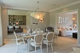 Shabby Chic Bedroom Chandelier Capiz Chandelier Dining Room Shabby Chic With Beige Dining Chairs
