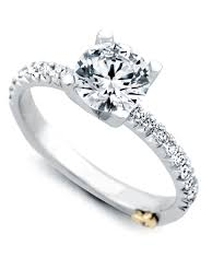 dapper traditional engagement ring schneider design california