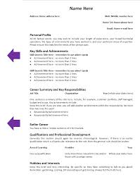 a template of a cv how to tailor your cv to a particular job by candidate tips