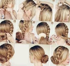 Hochsteckfrisuren Mittellange Haare Einfach by Festliche Frisur Selber Machen Http Stylehaare Info 208