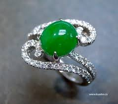 jade engagement ring engagement rings