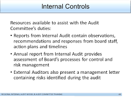 show starts in five minutes u2026 internal audit and audit committees