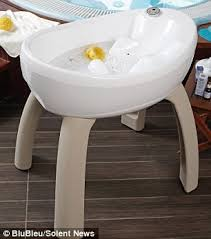 parents can now bathe their babies in the height of luxury with
