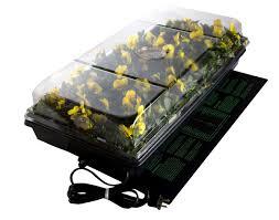 high heat plants amazon com jump start ck64050 germination station w heat mat