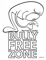 bullying coloring pages youtuf com