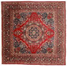 Antique Persian Rugs by 10 X 10 Square Vintage Persian Mashad Rug 12092 Exclusive