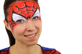 spider man face paint ideas easy tutorial party delights blog