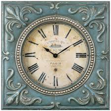 iron square wall clock square wall clock refined elegance