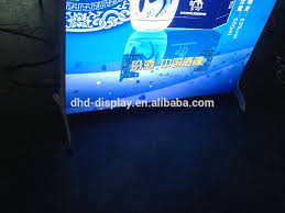exhibition trade show light box display advertisement board