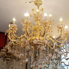 Buy Chandelier Crystals Online Buy Wholesale Gold Crystal Chandelier From China Gold