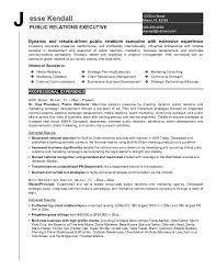 Communications Resume Examples by Public Relations Resume Sample Jennywashere Com