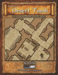 Tomb Of Horrors Map Paizo Com Map Pack M4 Desert Tomb Pdf