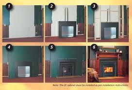 Fireplace Installation Instructions by Zero Clearance Fireplace Eureka Heaters
