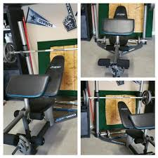 Weight Set With Bench For Sale Best Pro Form Xp 160 Weight Bench Set Purchased From Sears Asking