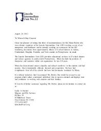 letter of recommendation sle recommendation letter sle for an employee 28 images