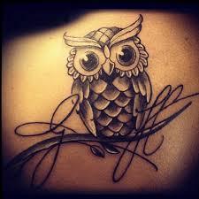 tattoo girl owl 30 cute owl tattoos ideas