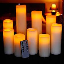 ry king 4 5 6 7 8 9 pillar flickering flameless