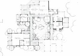 Interesting House Plans by Amazing 5 Modern House Plans With Courtyard Pool Interesting Floor