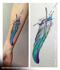 best 25 watercolour feather tattoo ideas on pinterest