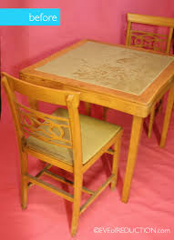 how big is a card table how to laminate fabric to refurb high traffic kid s table hometalk