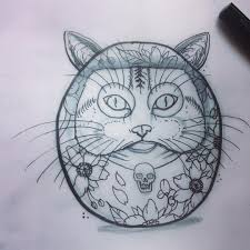 tattoo cat neko 5 famous daruma doll tattoo designs