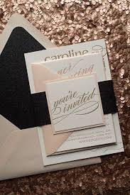and black wedding invitations best 25 wedding invitations ideas on metallic