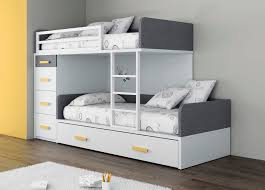 chambre garçon lit superposé lit superposé simple contemporain pour enfant unisexe