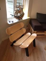 skateboard chairs marvelous skateboard furniture ideas 32 for your interior design