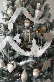 White Christmas Tree Silver Decorations by Top Silver And White Christmas Decoration Ideas Christmas