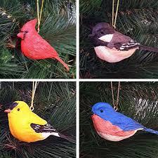 duncraft bluebird ornament set of 3