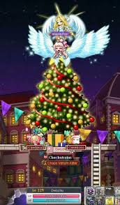 Decorate The Christmas Tree Maplestory by Giant Angel Wings Maplestory Amino