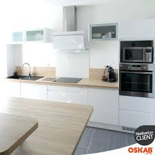 cuisine blanche moderne idee deco credence cuisine decoration d interieur moderne credence