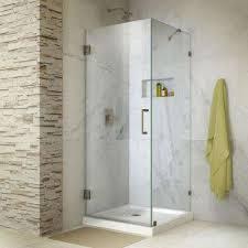 bathroom elegant frameless shower doors showers the home depot