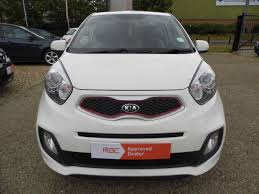 second hand kia picanto 1 25 white 3dr auto for sale in ipswich