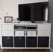 Kallax Filing Cabinet Glamorous Ikea Kallax Tv Stand With Best 25 Kallax Insert Ideas On