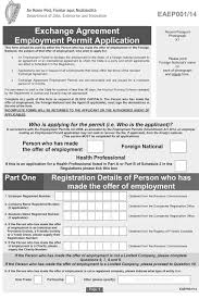 letter of application charity s i no 432 2014 employment permits regulations 2014