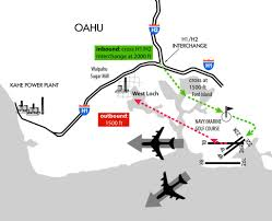 Hnl Airport Map Vfr Departure And Arrival Procedures At Honolulu U2013 Flying In Hawaii