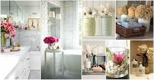 bathroom decor ideas relaxing flowers bathroom decor ideas that will refresh your bathroom