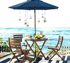 folding patio table with umbrella hole bistro table with umbrella hole dailynewsweek com