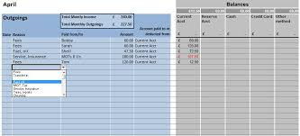 Account Spreadsheet Template Self Employed Trades Bookkeeping Spreadsheets Tax Help