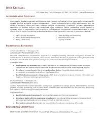Executive Assistant Resume Templates Medical Office Assistant Resume Example Pertaining To 23