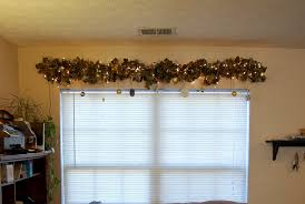 done is better than perfect diy christmas window garland