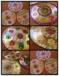 19 best cd ornaments images on recycling craft and